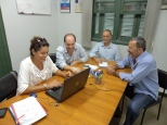 Libia Macedo, Rogério Hamam, Daniel Freitas e Paulo Passos